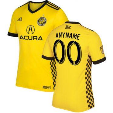 Prima maglia Columbus Crew 2018 gialla