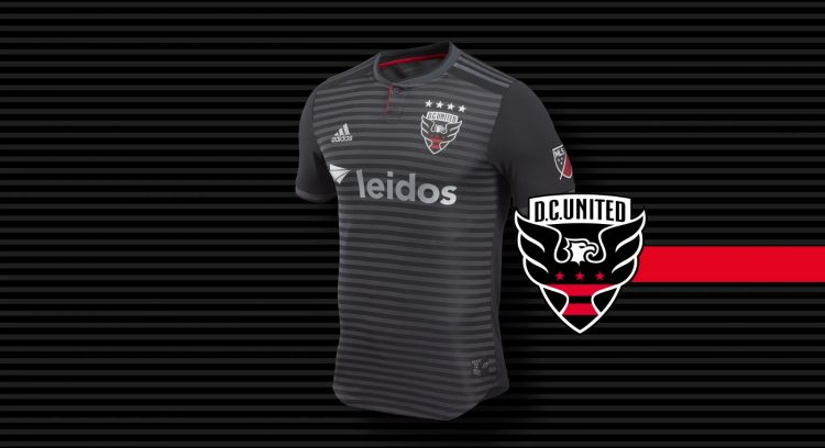 DC United kit 2018 adidas