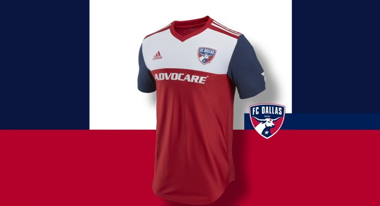 Dallas FC kit 2018 adidas