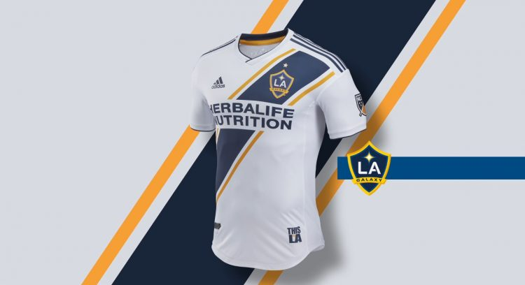 Los Angeles Galaxy kit home 2018