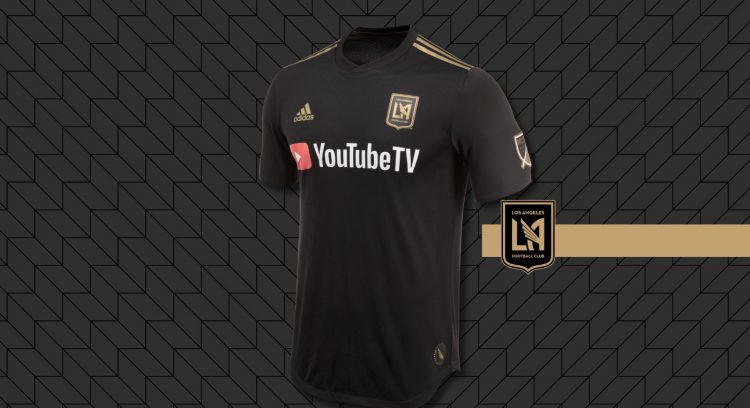 Los Angeles Fc kit home 2018