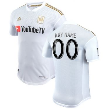 Los Angeles FC kit away 2018 bianco
