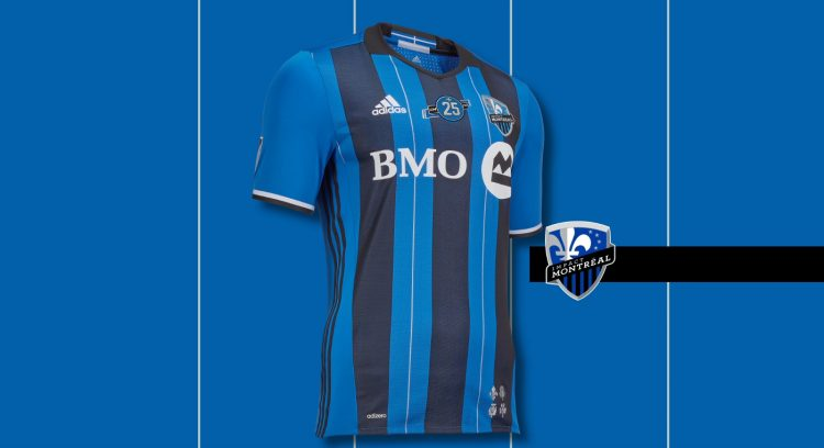 Montreal Impact kit home 2017-2018