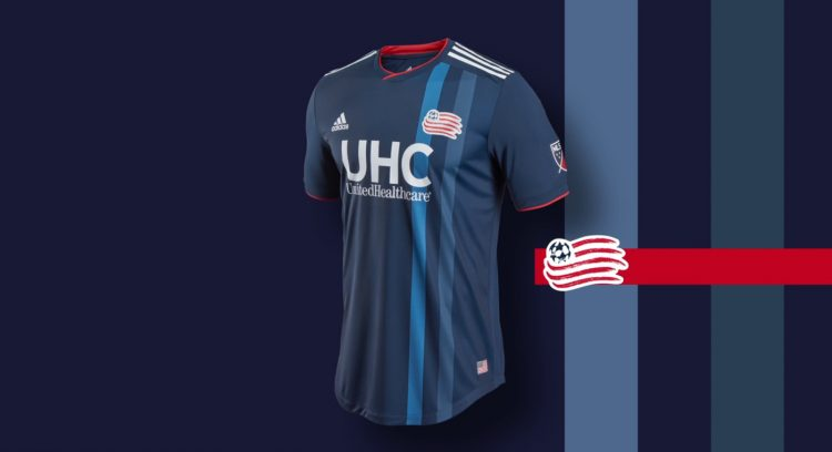 New England Revolution kit 2018
