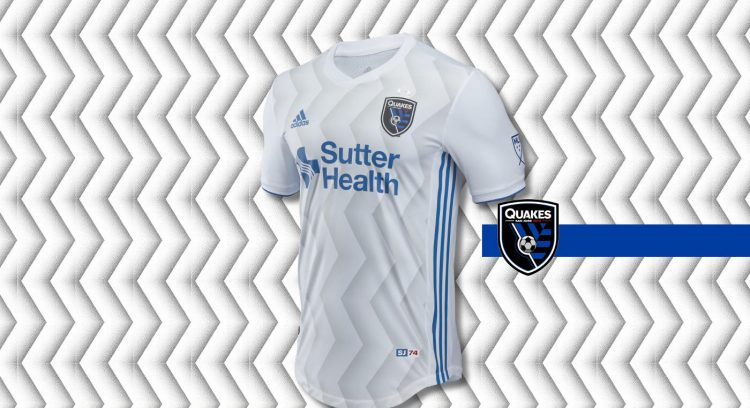 San Jose Earthquakes 2018 away kit