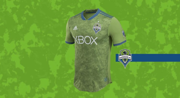 Seattle Sounders home kit 2018