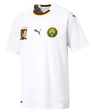 Seconda maglia Camerun 2018-19 bianca