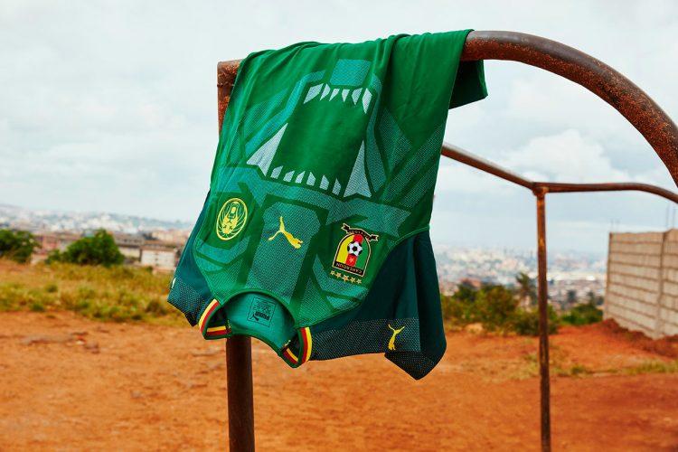La nuova maglia del Camerun firmata Puma