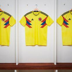 La prima maglia della Colombia ai Mondiali