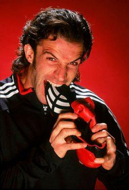 Photoshoot adidas Predator con Alessandro Del Piero