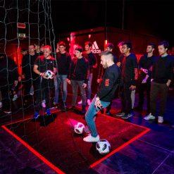 Evento adidas Predator a Milano, giochi con il pallone