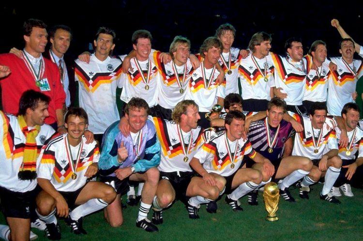 La Germania ai Mondiali del 1990