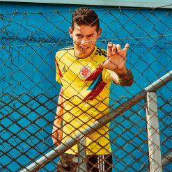 James con la maglia della Colombia 2018