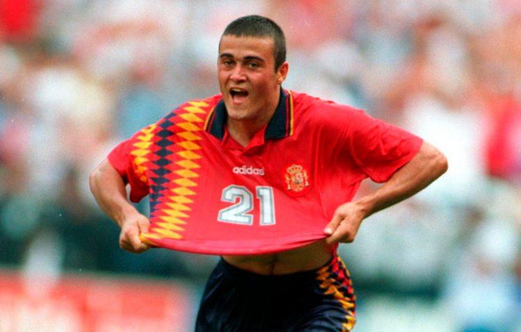 Luis Enrique, maglia Spagna 1994 Mondiali USA