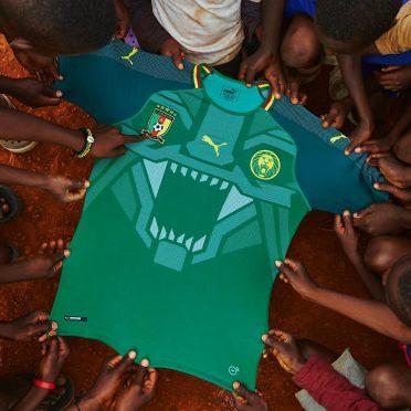 Maglia Camerun 2018 Puma home