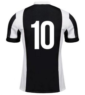 Numero 10 maglia Juventus celebrativa 120 anni