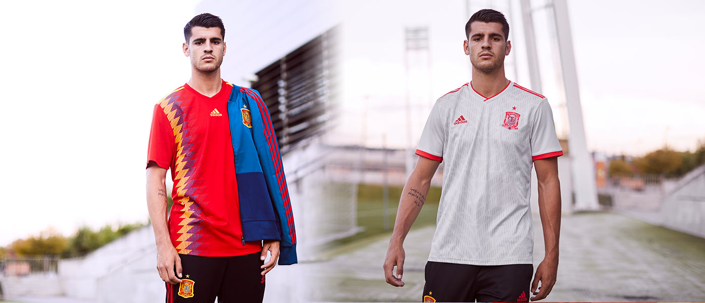 Maglie Spagna Mondiali 2018 adidas