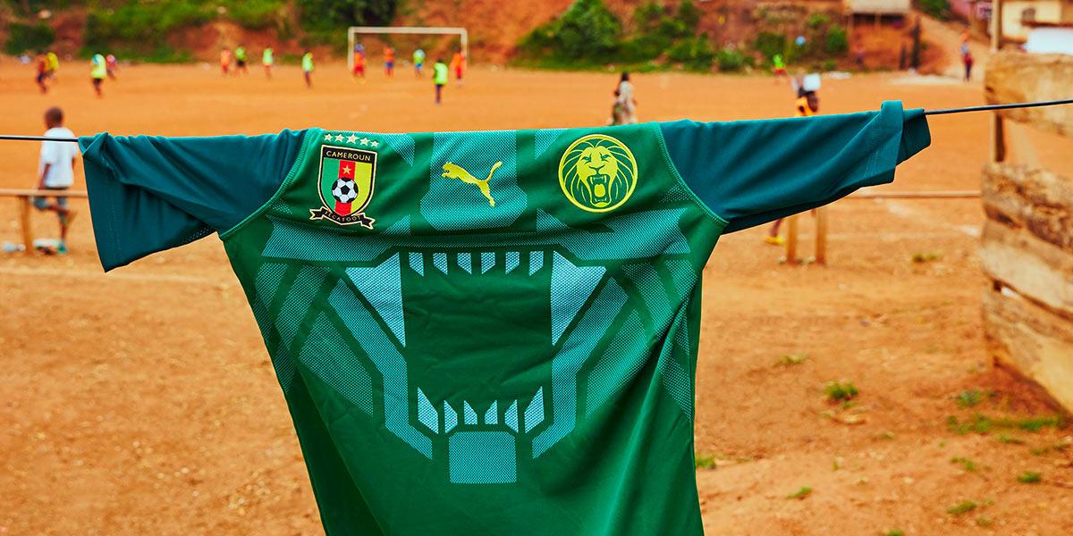 Nuova maglia Camerun 2018 Puma