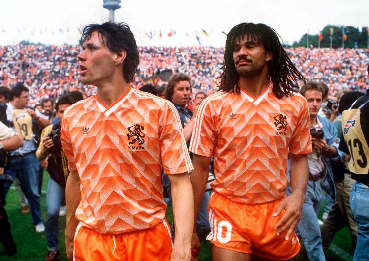 Van Basten e Gullit, maglia Olanda 1988