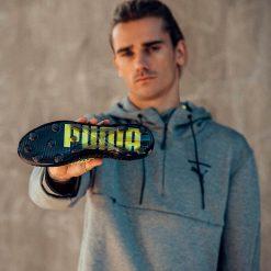 Antoine Griemann mostra le Puma Future