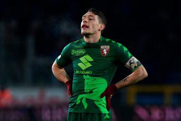 Belotti in maglia verde, Torino-Atalanta