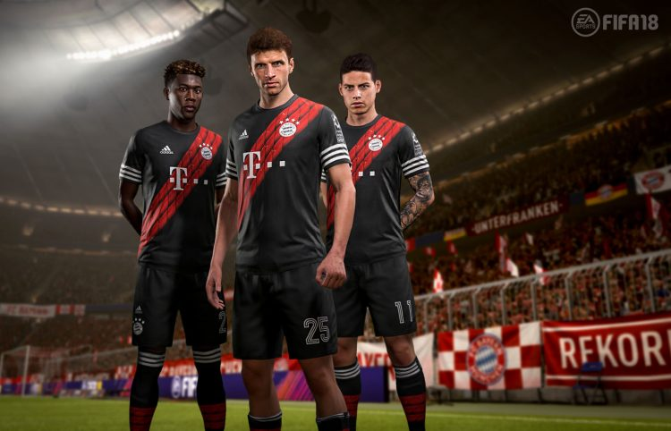 FIFA 18 Digital Fourth Kit 2017-2018, Bayern Monaco