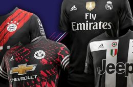 FIFA 18 Digital Fourth Kit 2017-2018, Bayern Monaco, Juventus, Manchester United, Real Madrid