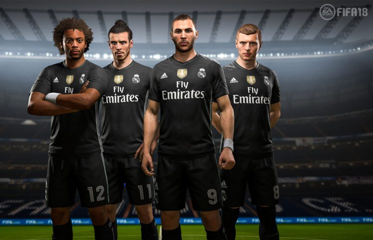 Real Madrid, FIFA 18 Digital Fourth Kit 2017-2018