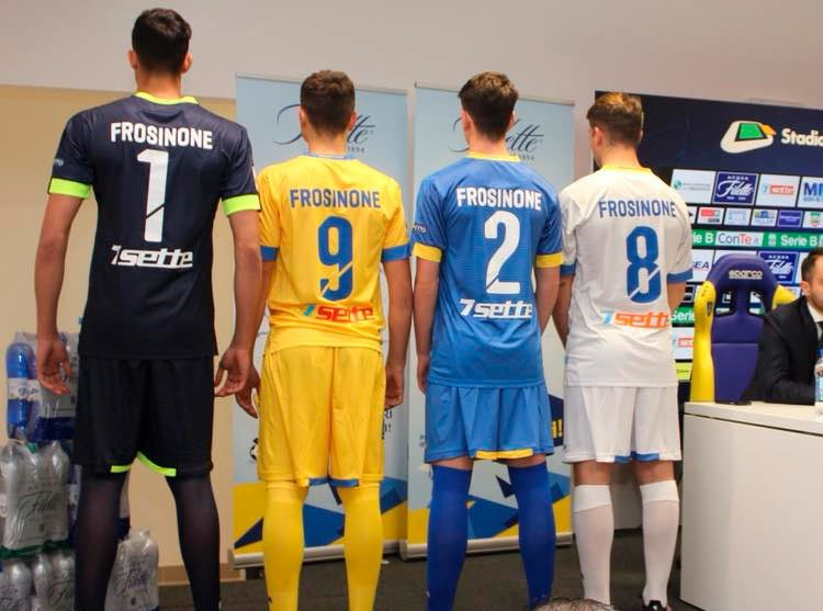 Font Frosinone, divise 2017-2018