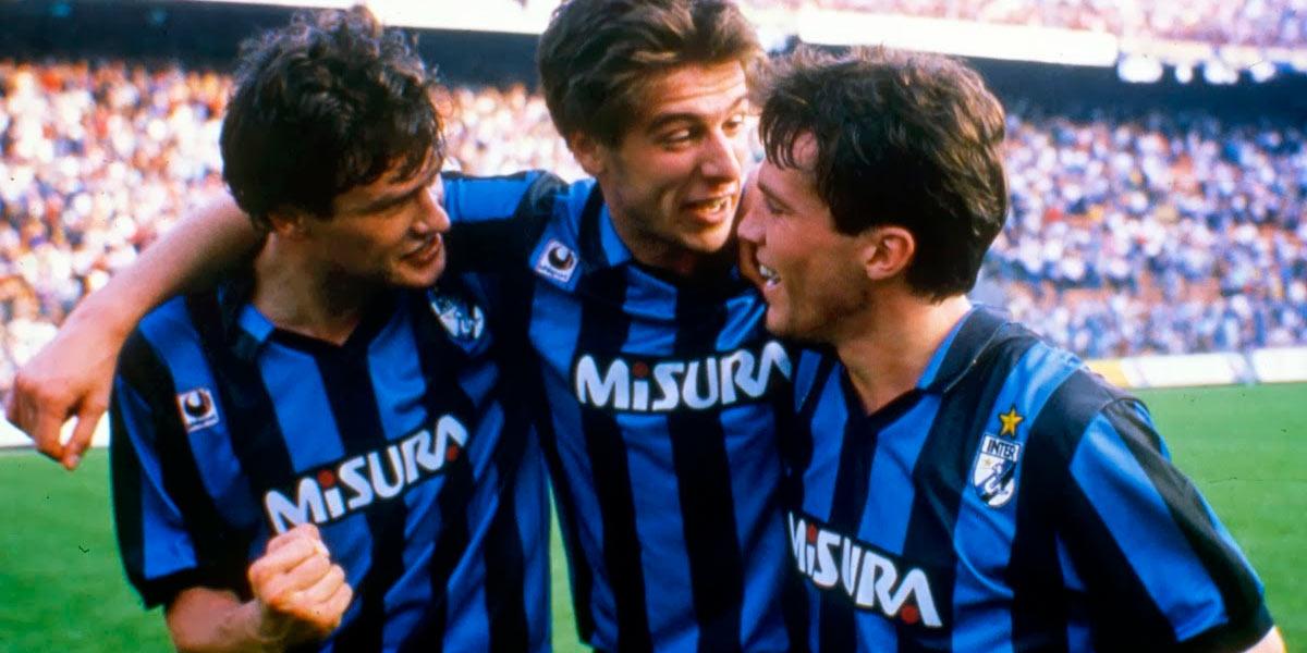 Maglia Inter 1988-89 sponsor Misura
