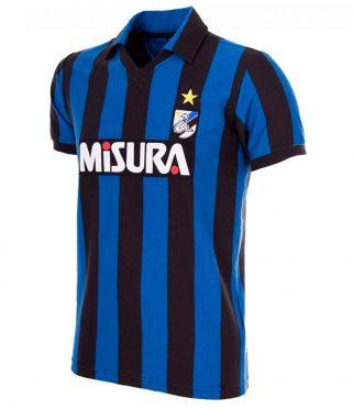 Maglia Inter anni '80 home, riproduzione Copa Football