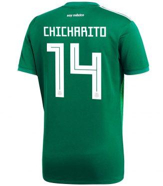 Maglia Messico home Chicharito 14