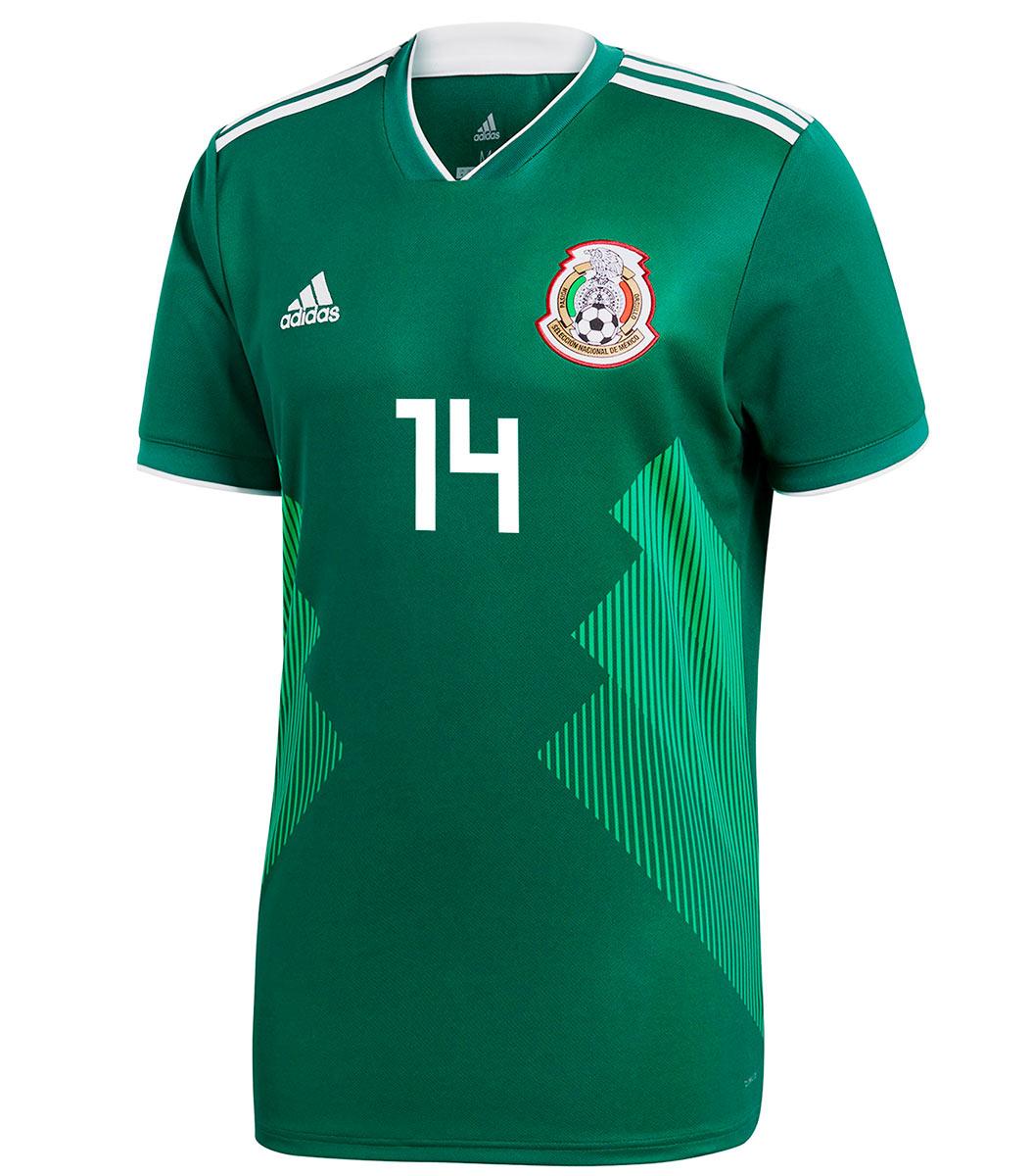 Maglia Messico Mondiali 2018, la firma di adidas per El Tricolor