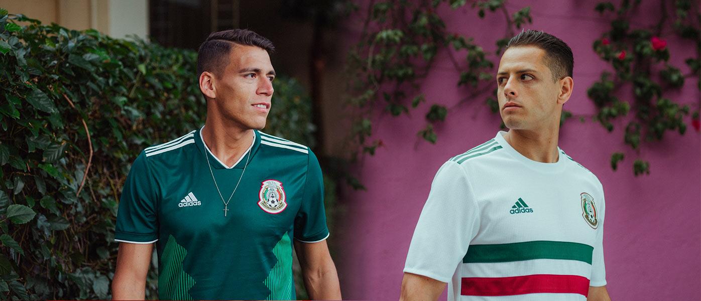 Maglie Messico Mondiali 2018 adidas