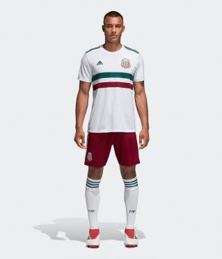 Kit Messico away Mondiali 2018