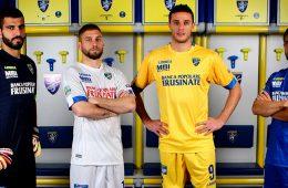 Le nuove maglie del Frosinone 2017-2018
