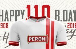 Bari 2017-2018, maglia 110 anni