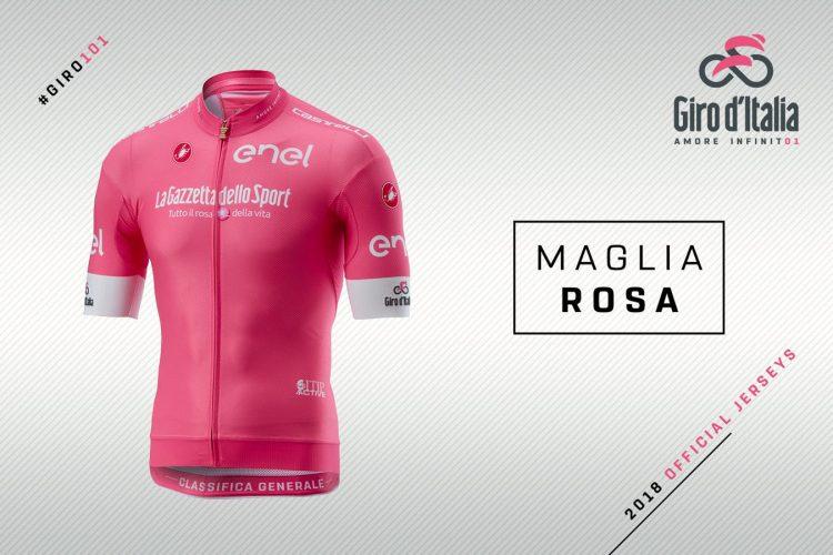 Maglia rosa Giro d'Italia 2018, classifica generale