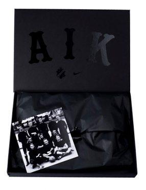 Packaging maglia AIK nera Nike