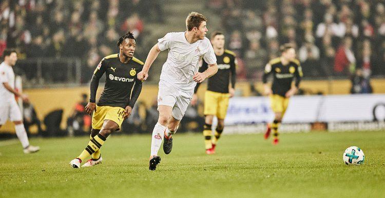 Bundesliga 2017-2018, Colonia (maglia 70 anni) vs Borussia Dortmund