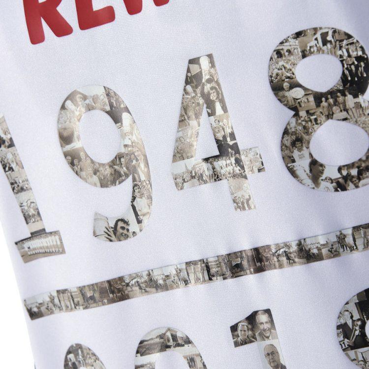 Colonia, maglia 70 anni, double face, stampa celebrativa