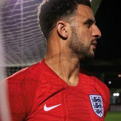 Dettaglio divisa away Inghilterra