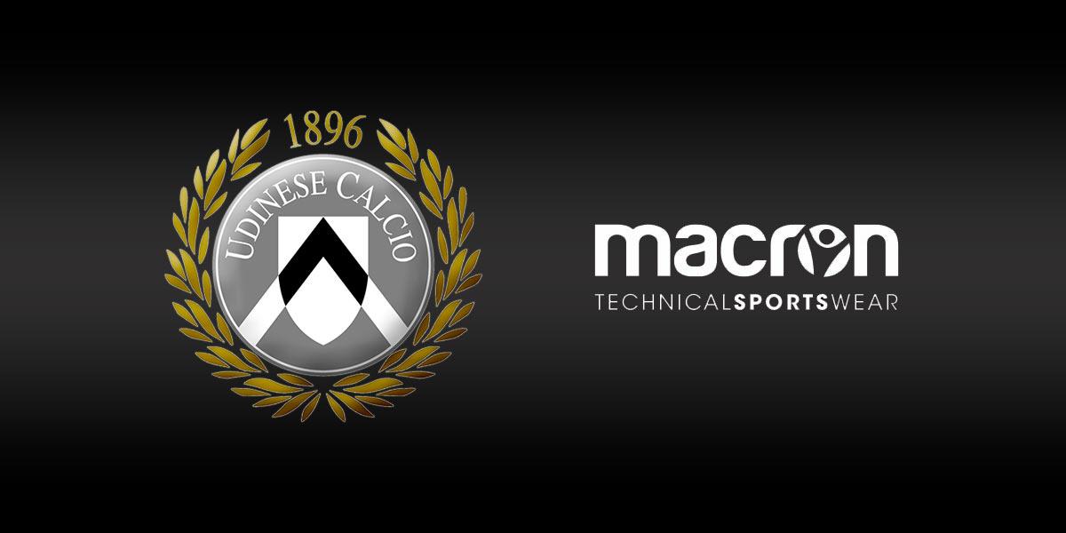 Macron sponsor tecnico Udinese Calcio