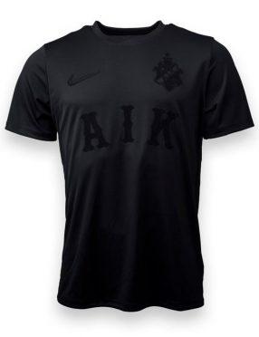 Maglia AIK nera griffata Nike