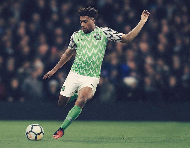 Maglia Nigeria Mondiali 2018 home Nike