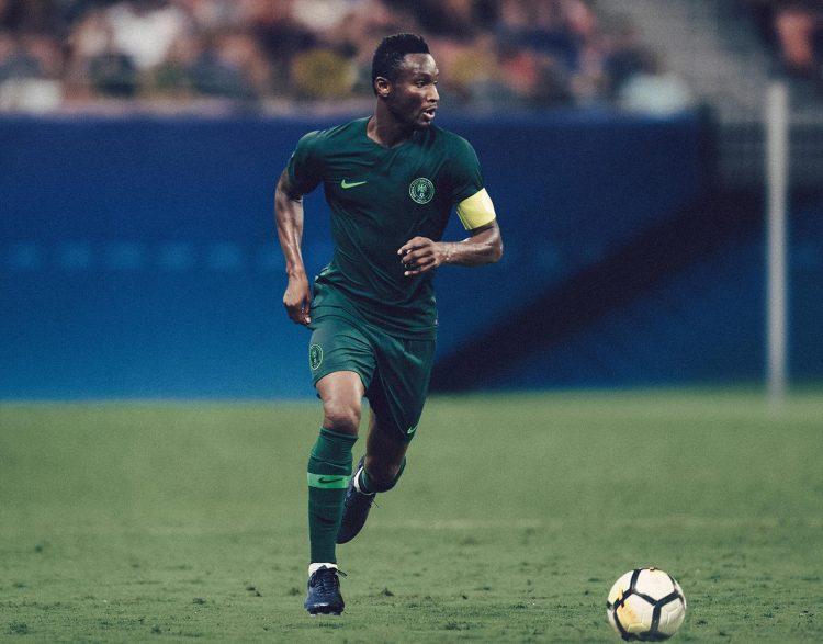 Seconda maglia Nigeria verde Mondiali 2018