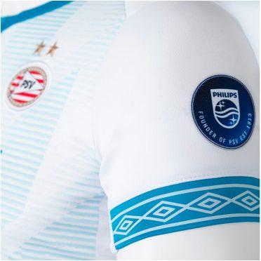 Diamanti Umbro su maglia PSV Eindhoven 2018-19