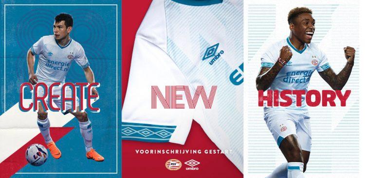 Campagna promo maglia PSV trasferta 2018-19
