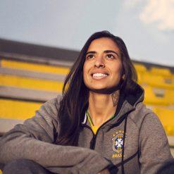 Felpa Brasile Nike collezione mondiali 2018