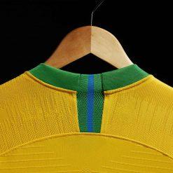 Retro colletto maglia Brasile home 2018